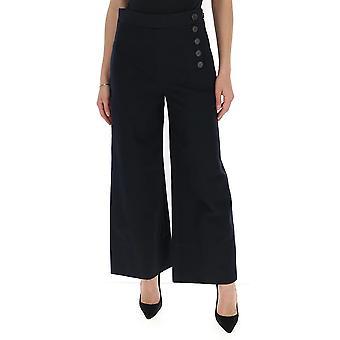 Chloé Chc20spa0204748m Women's Blue Cotton Pants