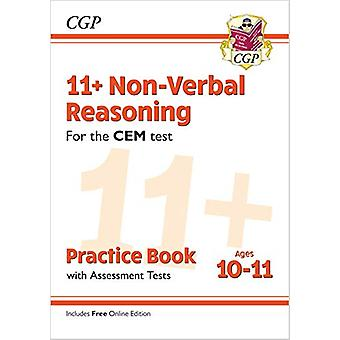 New 11+ CEM Non-Verbal Reasoning Practice Book & Assessment Tests