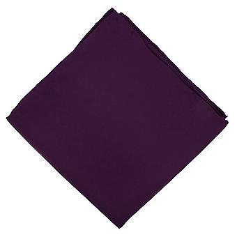 Michelsons of London Plain Handkerchief - Purple