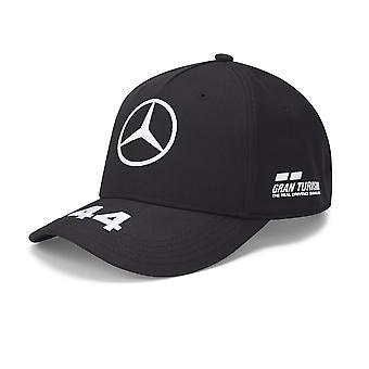 Mercedes AMG Petronas Lewis Hamilton Fahrer Mütze | Schwarz | Kinder | 2020