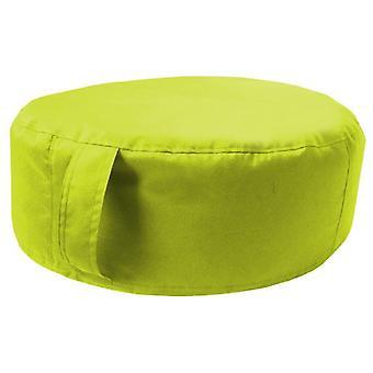 Klaar stabiel bed | Grote ronde bonen vloer tuinkussen. Ideaal voor binnen en buiten, gemaakt van waterbestendig materiaal. (Lime, 1Pcs)