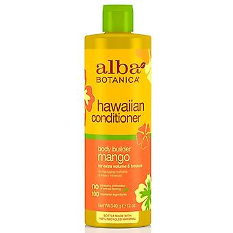 Alba botanica natural hawaiian conditioner, body builder mango, 12 oz
