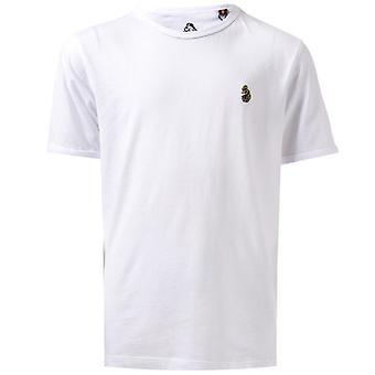 Boy & apos; s Luke 1977 Junior Byxa Snake Crew T-shirt i vitt