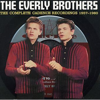 Everly Brothers - 1957-60-Complete Cadence Recor [CD] USA import