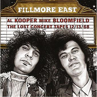 Kooper/Bloomfield - Fillmore East-Lost Concert Tapes 12/13/68 [CD] USA importeren