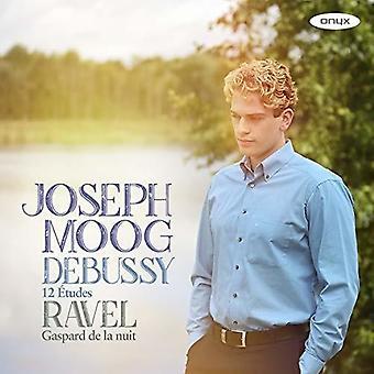 Joseph Moog - Debussy: 12 Etudes Ravel: Gaspard De La Nuit [CD] USA import