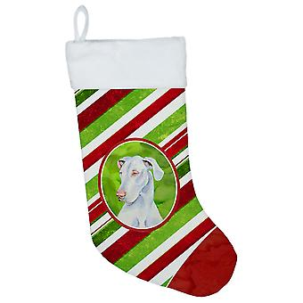 Great Dane Candy Cane Holiday Christmas Christmas Stocking LH9221