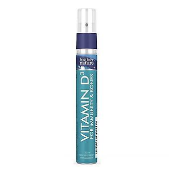 Korkeampi luonto D3-vitamiini 1250iu Spray 13.5ml (DVS013)