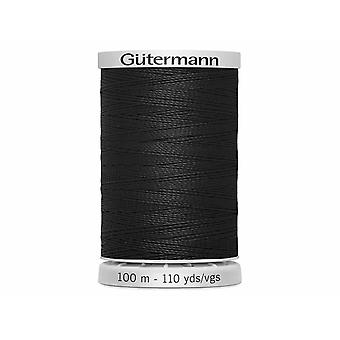 Gutermann Extra Strong 100% Polyester Thread 100m Code couleur main et machine - 000