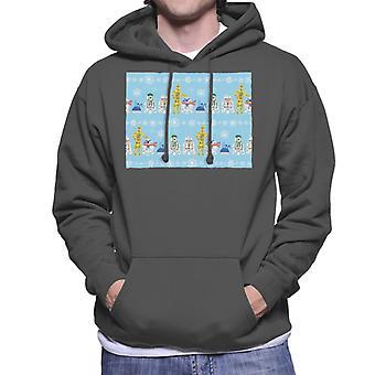 Star Wars Christmas Droid Lineup Hommes-apos;s Sweatshirt à capuchon