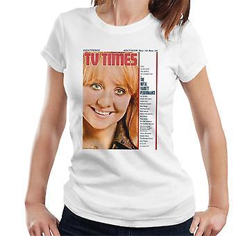 TV kertaa Lulu 1967 kansi naisten t-paita