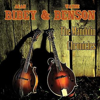 Alan Bibey & Wayne Benson - Mandolin Chronicles [CD] USA import