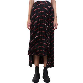 Balenciaga 625492tilr91076 Women's Black Polyester Skirt