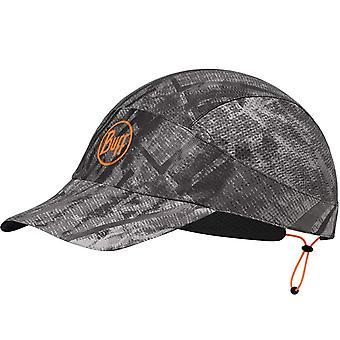 Buff Reflective City Jungle Adjustable Packable Running Baseball Cap Hat Grey XL