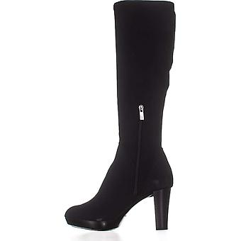 Donald J Pliner Women's Shoes Echoe2 Fabric Almond Toe Knee High Fashion Boots