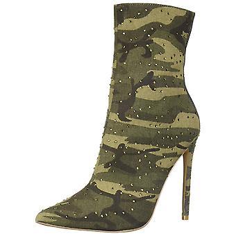ستيف مادن النساء واغو النسيج وأشار إصبع القدم أحذية أزياء الكاحل