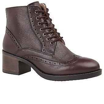 Lotus Amira Womens Lace Up Boots
