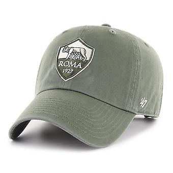 47 Brand Relaxed Fit Serie A Cap - CLEAN UP AS Roma moss