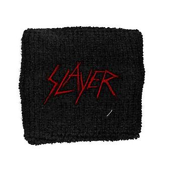 Slayer band Logo New Official black Cotton Sweatband