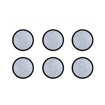 6-Pack Activated Charcoal Water Filter Disk for Coffee Models