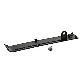 Hard drive cover plate for sony ps3 cech-2000/cech-3000 replacement with screw - black   zedlabz