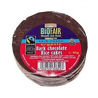 BIOFAIR - Organic Dark Chocolate Coated Rice Cakes