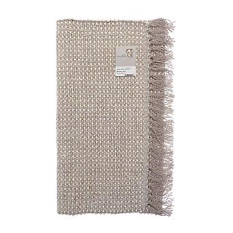 Country Club Woven Bamboo Rug, Natural