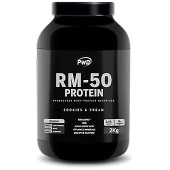 PWD Nutrition RM-50 Protein Cookies & Cream 2 kg