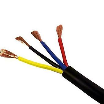 Speaker cable - double insulated, pvc multicore, stranded, round flexible pvc for pa installation