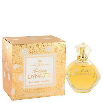 Golden dynastie eau de parfum spray by marina de bourbon 501386 100 ml