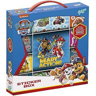 950pcs Stickers Totum Paw Patrol Sticker Box