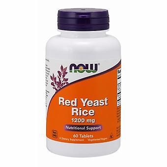 Teraz Foods Red Drożdże Ekstrakt ryżowy, 1200 mg, 60 Tabs