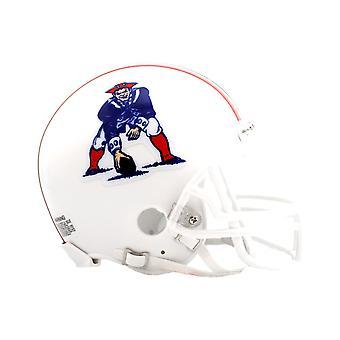 Riddell VSR4 Mini Jalkapallokypärä - New England Patriots 82-89
