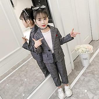 Girls Formal Pant & Suits Blazer Set