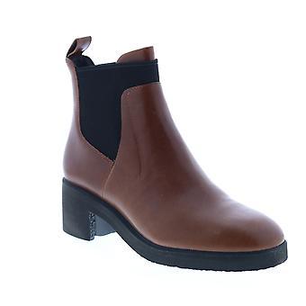 Camper Wonder Womens Brown Læder Slip På Chelsea Boots