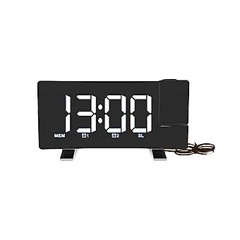 Usb Phone Charger With Projection Alarm Clock