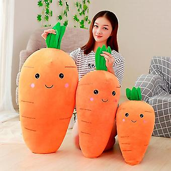 Big Creative Simulation Carrot Plush Toy, Super Soft Carrots Doll Stuffed With