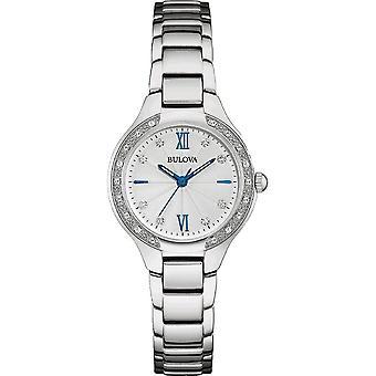 Bulova - Wristwatch - Ladies - DIAMOND - 96R208