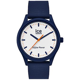 Ice Solar Watch naisille Analoginen kvartsi silikonirannekkeella IC018394