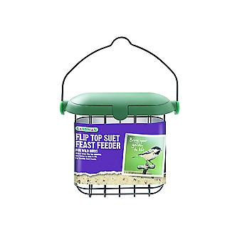Gardman Flip Top Suet Feast Feeder A04246