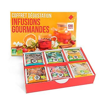 Gourmet Infusions Tasting Box 36 units of 1g