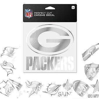 Wincraft الكمال قطع NFL الكروم ملصقا ملصقا 15x15cm