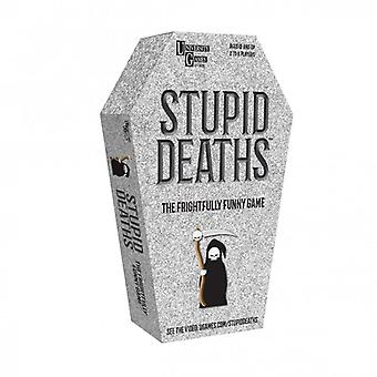 Stupid Deaths Coffin Tin  Family Game Age 12+