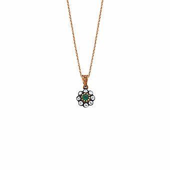 Emerald Diamond ketting