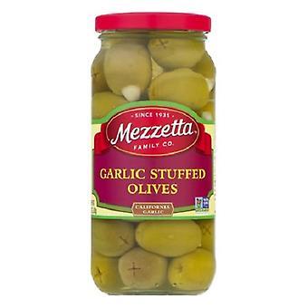 Mezzetta valkosipuli täytetty oliivit