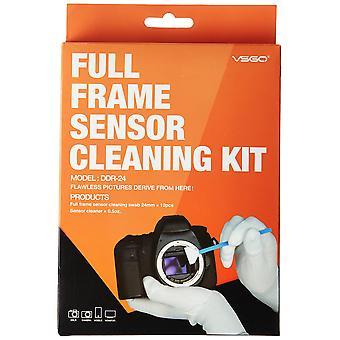 Ues dslr Digitalkamera Vollbild (ccd/cmos) Sensor Tupfer ddr-24 Kit (Box von 12 x 24mm Tupfer + 15ml s