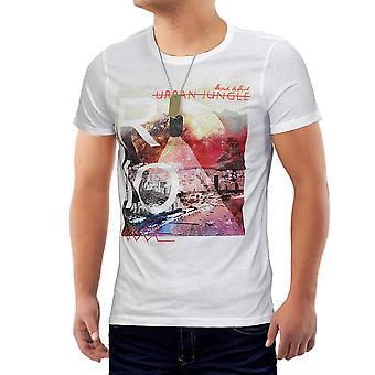 Camiseta de manga corta camiseta de Rio Cuba hombres Slim Clubwear Slim Fit urbano