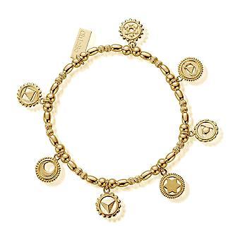 ChloBo GBMULCC Women's Positive Vibes Bracelet