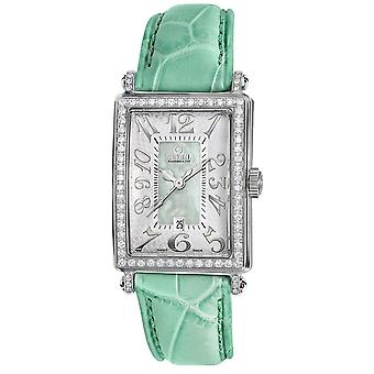 Gevril Women's 7246NL Mini Quartz Avenue of Americas Diamond Watch