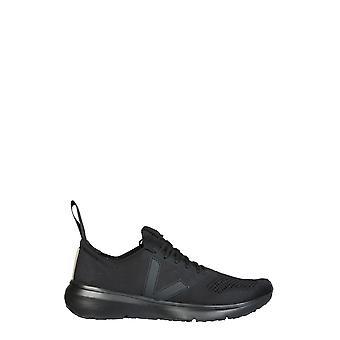 Rick Owens Vm20f3800kve09 Men's Black Polyester Sneakers